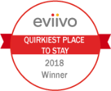 eviivo Award - Quirkiest Place To Stay 2018
